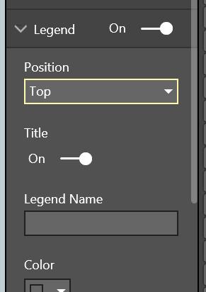 Formatting pane UI