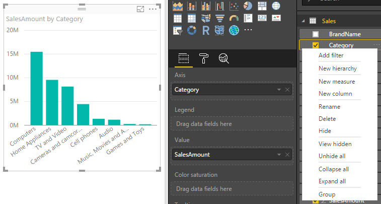 create%20group%20in%20field%20list Power BI Desktop October Feature Summary