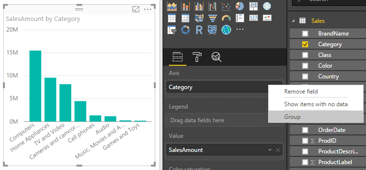 create%20group%20in%20field%20well Power BI Desktop October Feature Summary