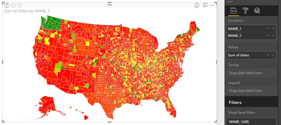 drilldownchoropleth Power BI Desktop July Feature Summary