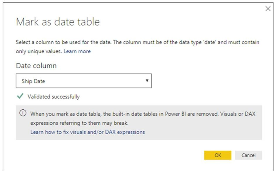 markAsDateTable Power BI Desktop February Feature Summary